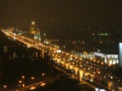 Ночной Минск во время Чемпионата мира по хоккею будет особенно ярким и праздничным