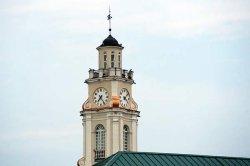 Часы на ратуше обходятся Витебску в 80 миллионов рублей за девять месяцев
