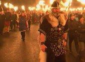Фестиваль огня прошел в Леруике. В этот раз с акцентом на независимость Шотландии