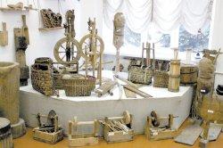У Лунінецкім ліцэі вучні і настаўнікі разам стварылі музей традыцыйнай побытавай культуры беларусаў