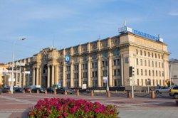 Круглый зал почтамта в Минске открылся после реконструкции