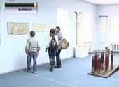 В Витебске открылась необычная выставка: экспонаты сотканы из янтарных нитей