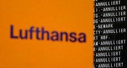 Lufthansa отменила около 600 рейсов из-за забастовки работников аэропортов Германии