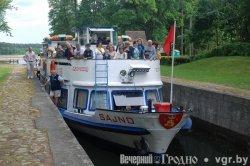 Из Августова в Гродно поплывет катер