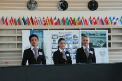 Цена стандартного номера в открывшейся трехзвездочной гостинице «Славянская» составляет около 100 евро