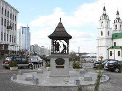 В историческом центре Минска установили новую скульптуру