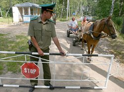 Изменилось время работы пунктов упрощенного пропуска на границе с Украиной