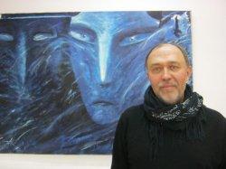 В музее современного изобразительного искусства открылась персональная выставка художника-авангардиста Виктора Петрова
