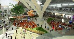 Новый зал ожидания в зоне прилета Международного аэропорта Абу-Даби