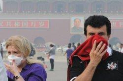 В Китае вводят смог-страхование туристов