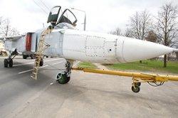 Самолет-разведчик дополнил экспозицию военной техники на Кургане Славы в Гродно