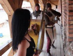 Клип Юлии Глебовой снимался в Лидском замке (видео)