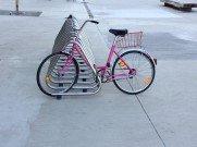 В Праге предлагается прокат розовых велосипедов