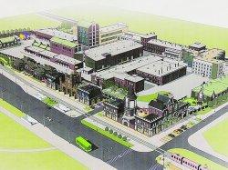 Вместо старых построек завода «Кристалл» откроют фирменный магазин, пабы и музей производства водки