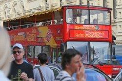 Из-за украинского кризиса иностранных туристов в России стало меньше
