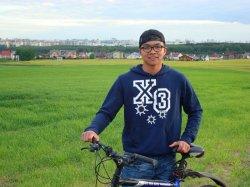 Китаец, живущий в Беларуси, собирается проехать на велосипеде 21 страну за 100 дней
