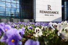 Отель «Ренессанс Минск» принял первых гостей – команду Дании по хоккею