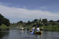 Витебские туристы-байдарочники планируют добраться от Верхнедвинска до Даугавпилса по Западной Двине за одну неделю