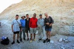 Путешественник Александр Советов завершил двадцатидневный пеший поход по Израилю