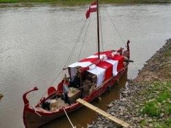 На Двине бросил якорь корабль викингов