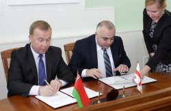 Министр спорта и туризма Беларуси и министр спорта и по делам молодежи Грузии подписали Меморандум о взаимопонимании