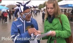 Эксперимент: финны-болельщики говорят на белорусском (видео)