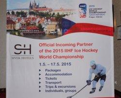 Чехи надеются, что на ЧМ по хоккею 2015 в Чехию приедет большое количество белорусских болельщиков