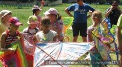 В Гомеле прошел фестиваль воздушных змеев