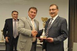 Национальный аэропорт Минск стал победителем конкурса «Лучший аэропорт стран СНГ» по итогам работы за 2013 год