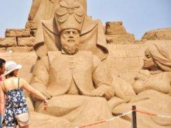 В Турции начинается Фестиваль песчаных скульптур