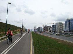 В Минске появятся новые дорожки для велосипедистов