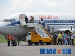 1 июня стартовала программа чартерных рейсов Витебск – Анталья