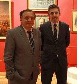 Национальный художественный музей посетил специалист аукционного дома «Сотбис»