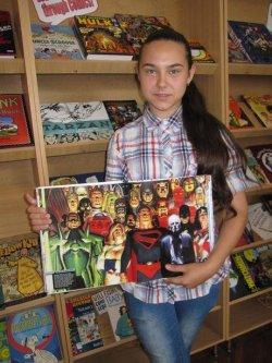 В Барановичах открылась выставка американских комиксов