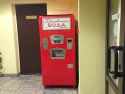 В кинотеатре «Ракета» появился торговый автомат в стиле ретро