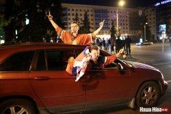 Белорусским автомобилистам в наследство от ЧМ достались указатели на английском языке и спешно отремонтированные  улицы Минска
