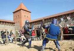 Фестиваль «Меч Лидского замка» соберет рыцарей из четырех стран