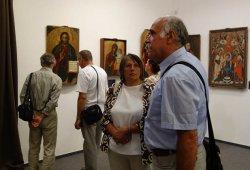 Выставка древних белорусских икон открылась в венгерском Сольнаке