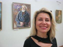 В музее Янки Купалы открывается выставка портретов Оксаны Аракчеевой