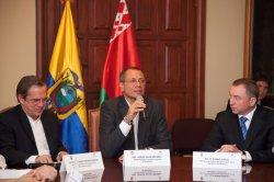 Министры иностранных дел Беларуси и Эквадора подписали соглашение о взаимной отмене виз