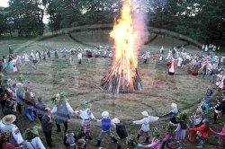 В Октябрьском районе прошел праздник «Рудабельскае Купалле»