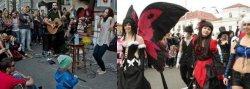 У Мінску пешаходную вуліцу з рок-канцэртамі замянілі вулічным тэатрам ля ратушы