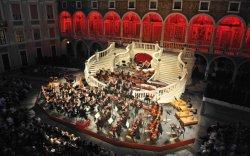 В июле и августе во внутреннем дворе Княжеского дворца в Монако пройдут концерты под открытым небом