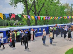 Детская железная дорога приготовила к 3 июля праздничный маршрут