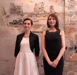 В гостинице «Минск» появилась инсталляция «История города», созданная студентами Белорусской государственной академии искусств
