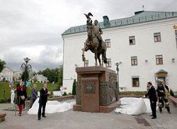 Во время празднования Дня города в Витебске торжественно открылся памятник князю Ольгерду