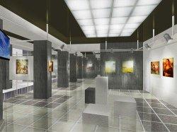 Могилевчане получили в подарок на праздник города обновленный выставочный зал
