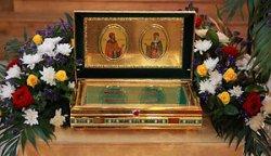 Ковчег с мощами святых Петра и Февронии доставят в Брест из Мурома