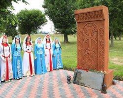 Хачкар в честь павших за освобождение Могилевской области армян открыли в городе на Днепре
