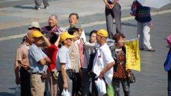 Туристы из Китая самые многочисленные в России